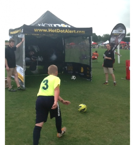 Event Marketing - Kick-It 3 v 3 event in Tulsa last month
