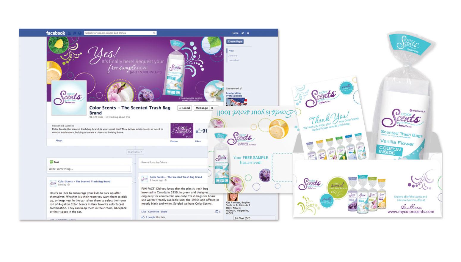 ColorScents - Social Media Campaign