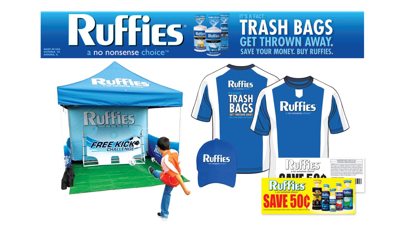 Ruffies - Event Marketing - Trash Bag Sponsorship