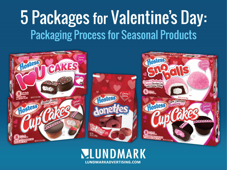 Hostess Valentine's Package Line