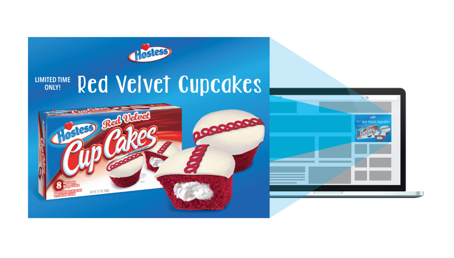 Hostess - Red Velvet Product launch - digital marketing