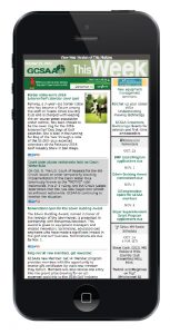 Before - mobile view, too small to read, typically unread and deleted