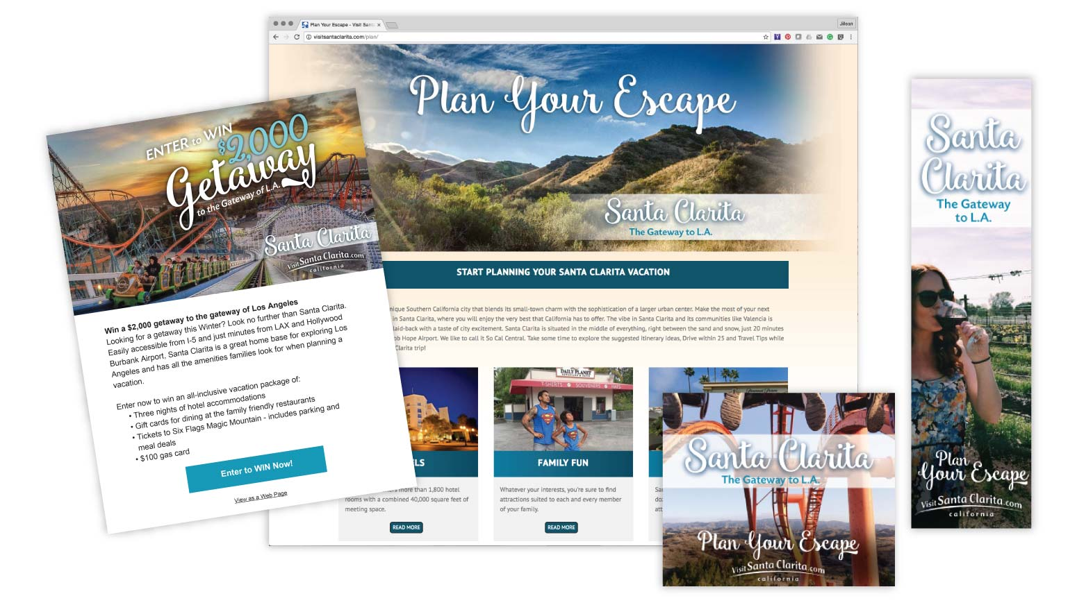 Visit Santa Clarita California - Tourism Marketing