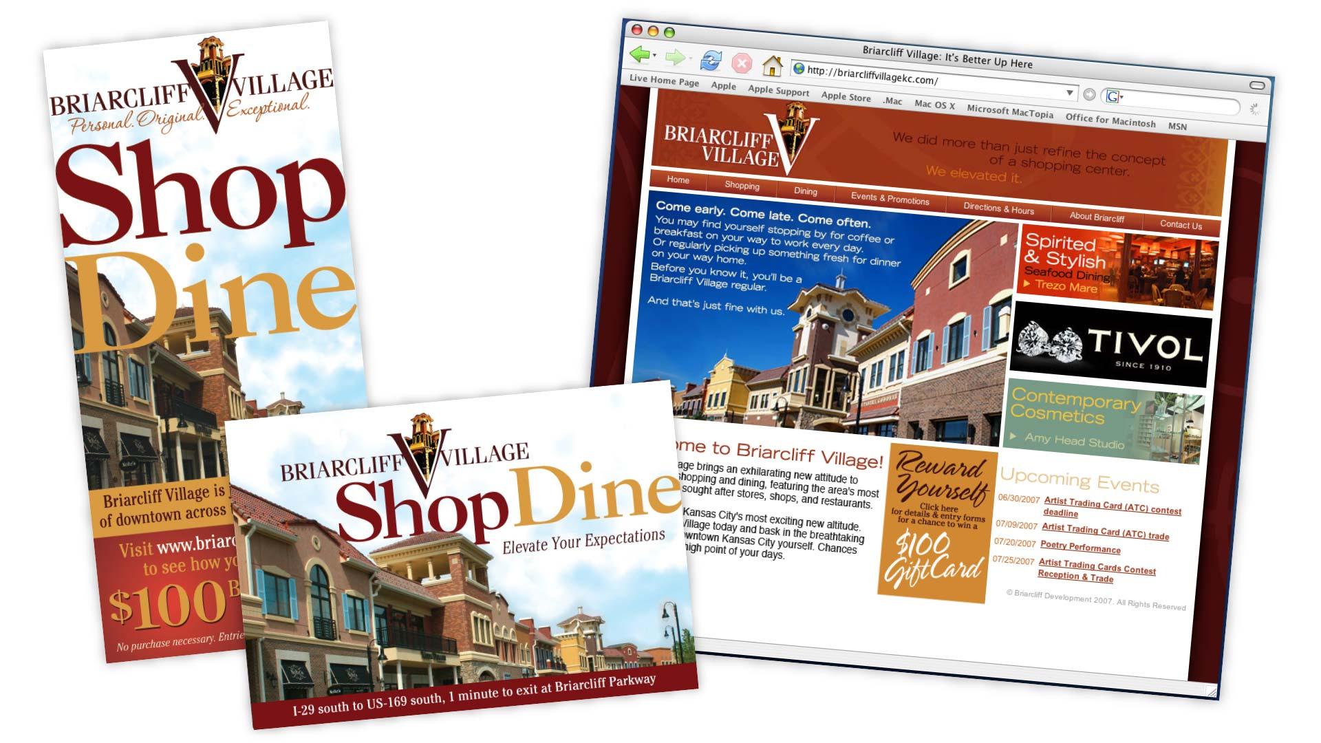 Briarcliff Village - Shop Dine Campaign