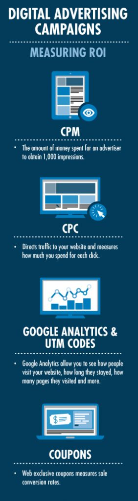 Digital Advertising Campaigns Infographic
