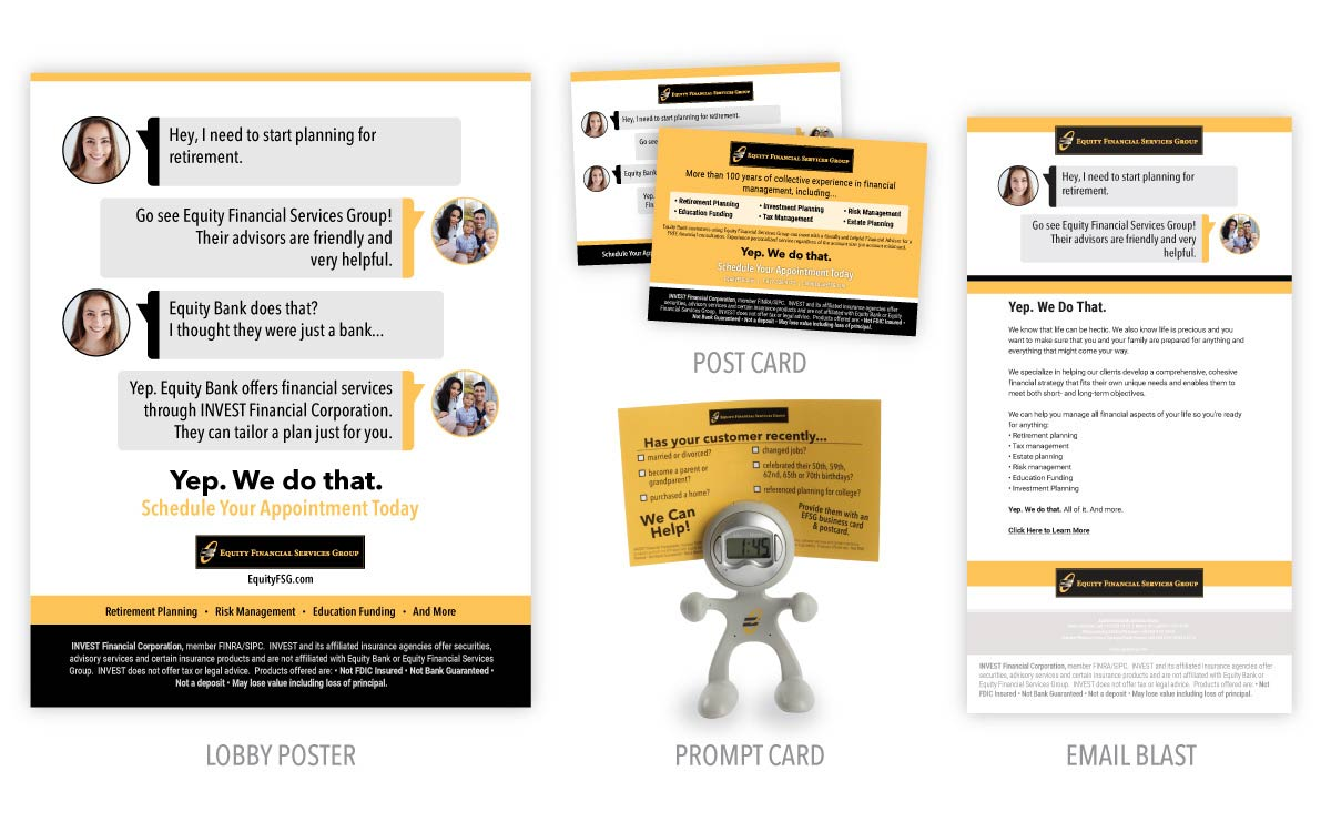 Equity Bank - Product Promotion
