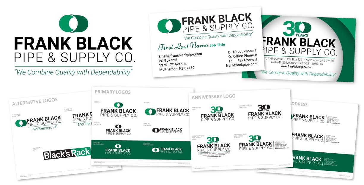 Frank Black Pipe & Supply Co. – Brand Refresh