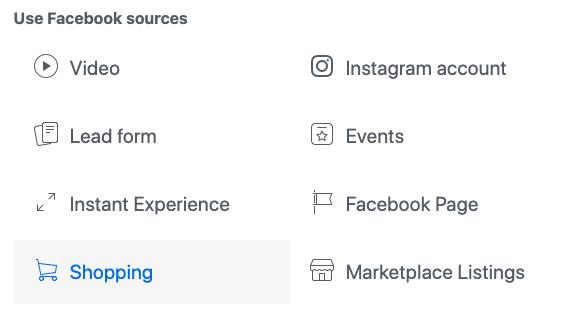 Updates to Facebook Custom Audience - Screen 1
