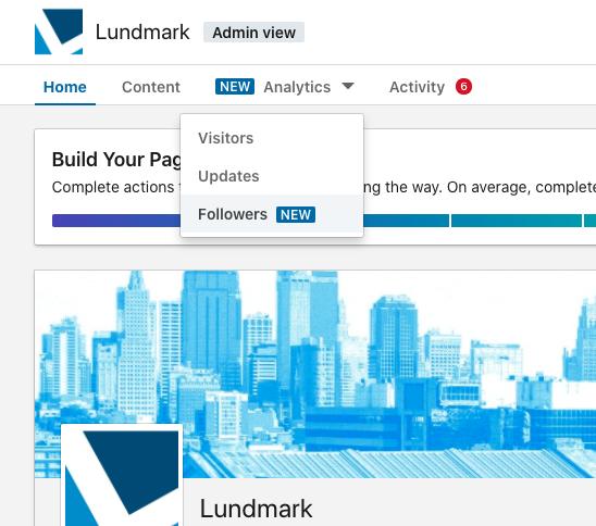 LinkedIN follower analytics - 1